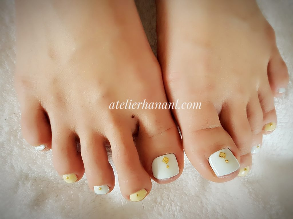 gel nail pedicure in den haag netherlands