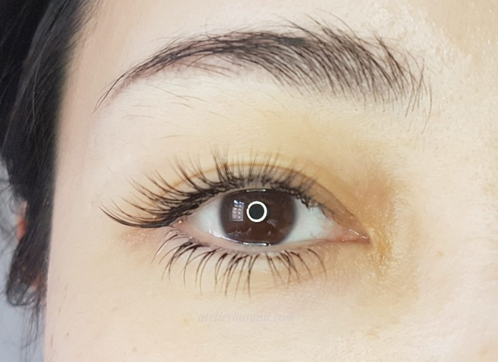 eyelash extensions at atelier hana amsterdam