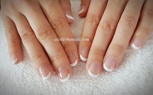 french gel nail in den haag