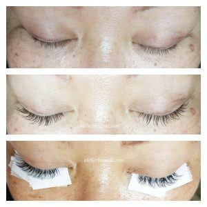the difference between one by one and volume lash