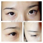 eyelash extensions one by one by japanese stylist