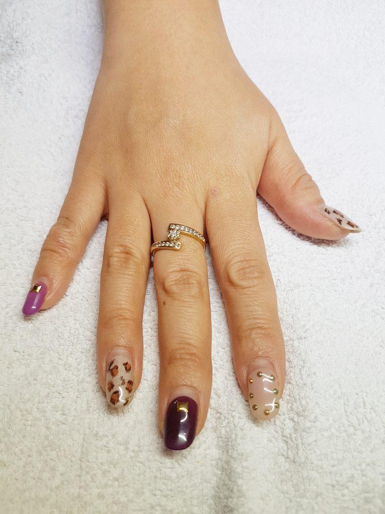 Panthère nail