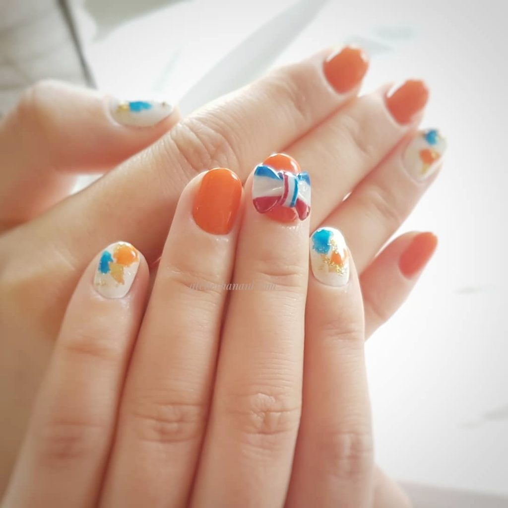 kings day nail
